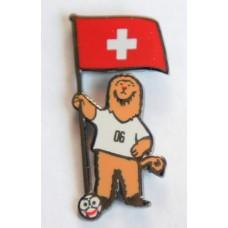 Значок Швейцарии, выпущенный к Чемпионату Мира в Германии-2006.