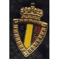 Значок Федерации Футбола Бельгии (вид 1)