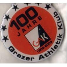 Юбилейный значок ФК ГАК Грац (Австрия) - 100 лет