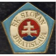 Значок ФК Слован Братислава (Словакия)