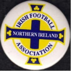 Значок Федерации Футбола Северной Ирландии (вид 2)