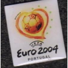 Значок с лого Чемпионата Европы 2004, официальный.