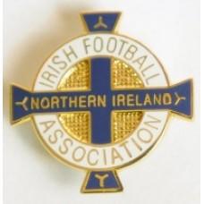 Значок Федерации Футбола Северной Ирландии (вид 1)