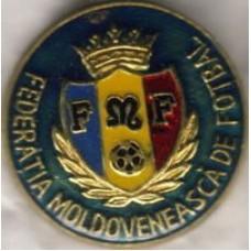 Значок Федерации Футбола Молдовы (зеленый фон)
