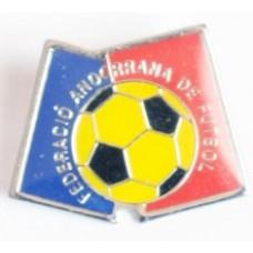 Значок Федерации Футбола Андорры