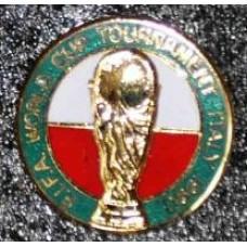 Значок Чемпионат Мира 1990 Италия (1)
