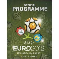 Официальная программа Чемпионата Европы 2012 английский язык