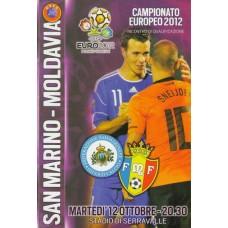 Программа Сан Марино - Молдова национальные сборные 12.10.2011