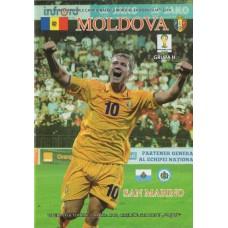Программа Молдова - Сан Марино 11.10.2013 отбор ЧМ 2014