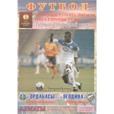 Программа Ордабасы Шымкент - Ягодина Сербия 12.07.2012