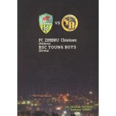 Программа Зимбру Кишинев - Янг Бойз Берн 26.07.2012 Лига Европы