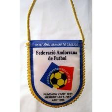 Официальный вымпел Федерации Футбола Андорры