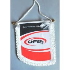 Сувенирный вымпел Федерация Футбола Австрии (вид 1)
