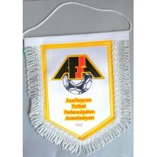 Вымпел Федерации Футбола Азербайджана  (белый фон)