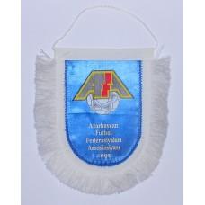 Вымпел Федерации Футбола Азербайджана  (синий фон)