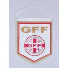 Сувенирный вымпел Федерации Футбола Грузии