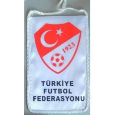 Вымпел Федерации Футбола Турции (вид 1)