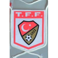 Вымпел Федерации Футбола Турции (вид 2)