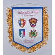 Вымпел отбор на ЧЕ-2009 сборные России, Молдовы, Италии, Латвии до 19 лет