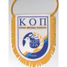 Сувенирный вымпел Федерации Футбола Кипра