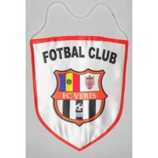 ФК Верис Кишинев (Молдова) официальный капитанский клубный вымпел. Размер: 33х27 см.