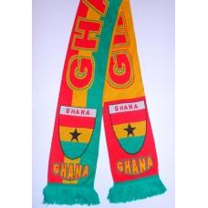 Шарф сборной Ганы вязаный