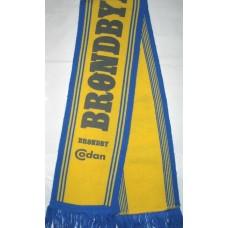 Шарф футбольного клуба Brondby I.F. (Дания)