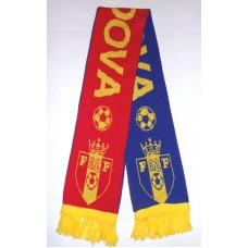 Шарф сборной Молдовы по футболу вид 1