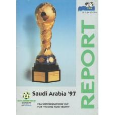 FIFA Confederation Cup Saudi Arabia 1997 report