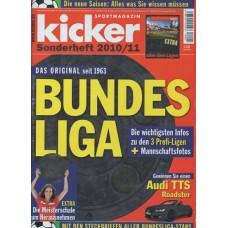 Справочник Kicker Bundesliga season 2010 - 2011