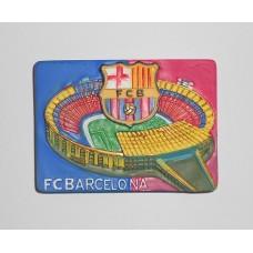 Магнит футбольного клуба Барселона (Испания) с изображением стадиона Ноу Камп