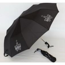 Зонт с логотипом ФК Шериф Тирасполь (Молдова) черный цвет
