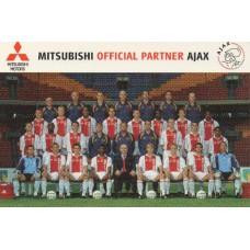 Открытка ФК Аякс Амстердам (Голландия)