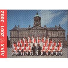 Открытка ФК Аякс Амстердам (Голландия) сезон 2001-2002