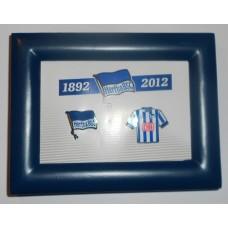 Сувенирная рамка с двумя значками ФК Герта Берлин (Германия)