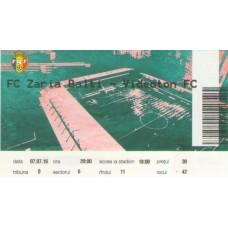 Билет Заря Бельцы (Молдова) - Видеотон (Венгрия) Лига Европы 07.07.2016
